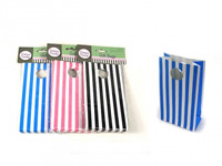 STRIPE GIFT BAG Pk 6