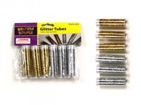 Glitter tubes Pk 6