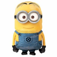 Minion  Despicable Me Airwalker  Foil Balloon