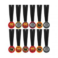 Cars 2 Award Medals Formula Racer Assorted Designs Pack of 12