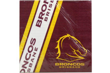 NRL PARTY NAPKINS BRONCOS