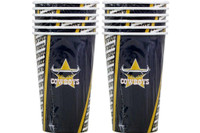 NRL PARTY CUPS COWBOYS PK 6