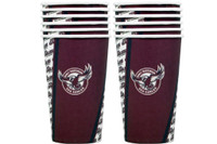 NRL PARTY CUPS SEA EAGLES 6PK