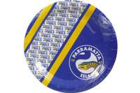 NRL PARTY PLATES EELS 6PK