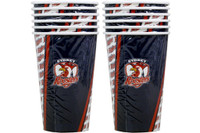 NRL PARTY CUPS ROOSTERS 6PK