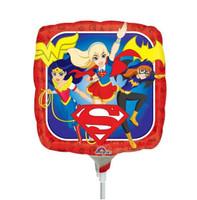 Super Hero Girls small foil balloon