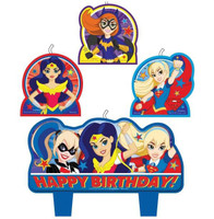 Super Hero Girls Candle Set Happy Birthday | Girls Power | Sydney