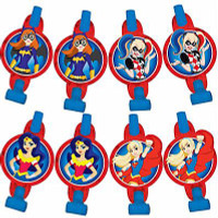 Super Hero Girls Blowouts with Medallions