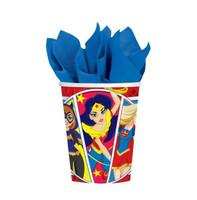 Super Hero Girls Cups Paper