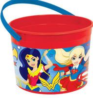 Super Hero Girls Favor Container  Handle