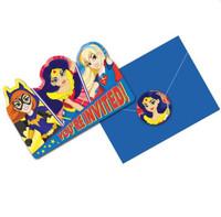 Super Hero Girls Invitations