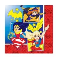 Super Hero Girls Luncheon Napkins