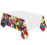 Super Hero Girls Tablecover Plastic