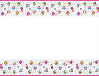 Shopkins Tablecover Plastic
