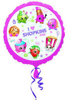 Shopkins Design foil baloon