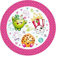 Shopkins Luncheon Plates Paper