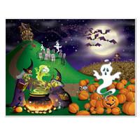 Insta Mural Halloween Scene