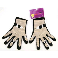Halloween Mummy Gloves