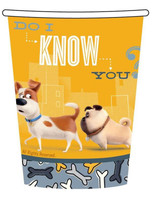 The Secret Life of Pets Cups Paper