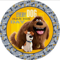 The Secret Life of Pets Dinner Plates