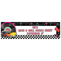 Classic Personalize It Giant Party Banner