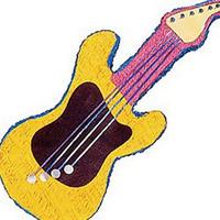 Pinata Guitar Yellow