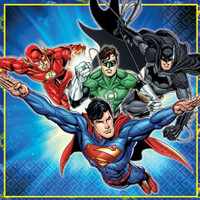 Justice League Luncheon Napkins