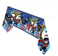 Justice League Tablecover Plastic