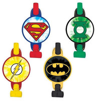 Justice League Blowouts with Medallions
