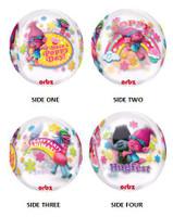 Shape Trolls Characters Stretchy Plastic Balloon