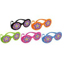Disco Fever Printed Lense Plastic Glasses