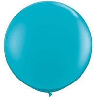 Large Teal Balloon 90cm Latex