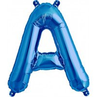 Blue Letter A Megaloon Balloon