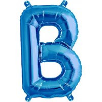 Blue Letter B Megaloon Balloon