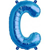 Blue Letter C Megaloon Balloon