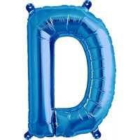 Blue Letter D Megaloon Balloon