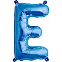 Blue Letter E Megaloon Balloon