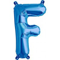 Blue Letter F Megaloon Balloon