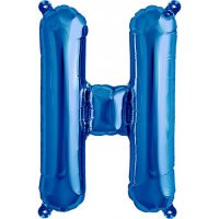 Blue Letter H Megaloon Balloon