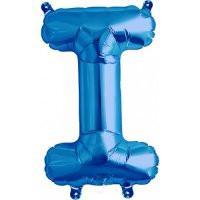 Blue Letter I Megaloon Balloon