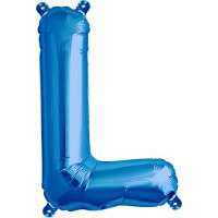 Blue Letter L Megaloon Balloon
