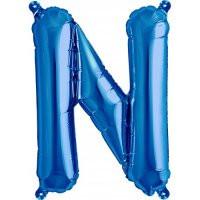 Blue Letter N Megaloon Balloon