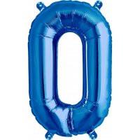 Blue Letter O Megaloon Balloon