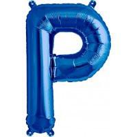 Blue Letter P Megaloon Balloon