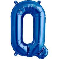 Blue Letter Q Megaloon Balloon
