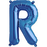 Blue Letter R Megaloon Balloon