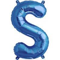 Blue Letter S Megaloon Balloon