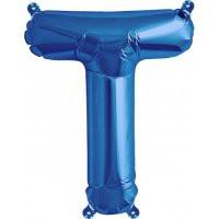 Blue Letter T Megaloon Balloon