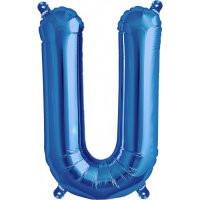 Blue Letter U Megaloon Balloon