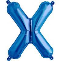 Blue Letter X Megaloon Balloon